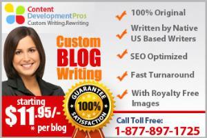 Portfolio for Blog Writing Service