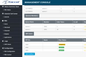 Portfolio for Asterisk Call Center GUI And development