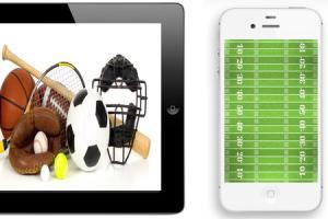Portfolio for Sports Site w/ Social Media