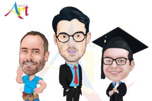 Portfolio for Caricature and Cartoon Charecter