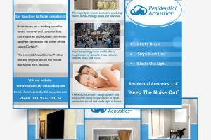 Portfolio for Brochure design tri-folds