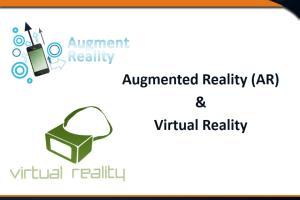Portfolio for Augmented Reality &  Virtual Reality