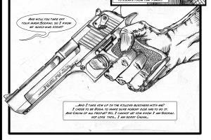Portfolio for Comic Book Illustration