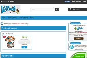 Portfolio for Auction Website Design and Development