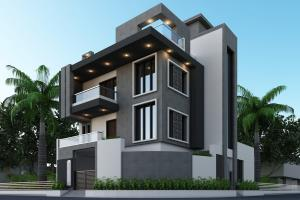 Portfolio for 3D, 2D Drawings _ Exterior , Interior