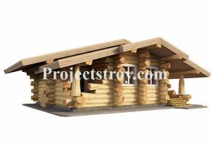 Portfolio for Drawing sauna, log home, log cabin