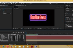 Portfolio for Adobe After Effects