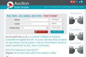 Portfolio for Auction website