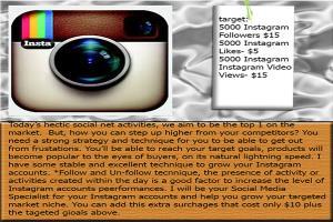 Portfolio for Provide IG Likes, Followers & Video View
