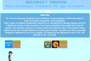 Portfolio for Game Developer/Designer
