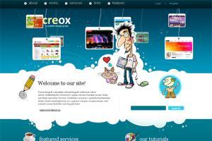 Portfolio for Web Developer, Html, Css, Wordpress, PHP