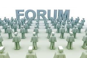 Portfolio for 35 money related forum post