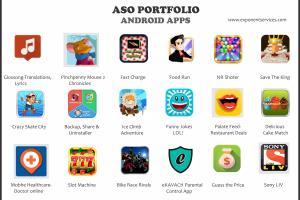 Portfolio for Proffesional App Store Optimization(ASO)