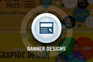 Portfolio for BANNER DESIGNS