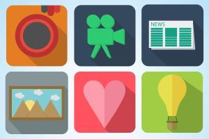 Portfolio for Profession icons for your app