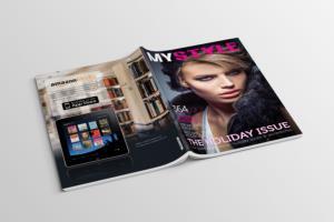 Portfolio for Magazine, Brochure and Flyer Designing
