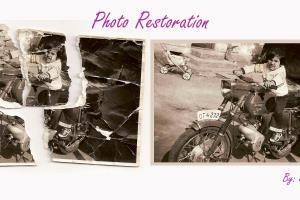 Portfolio for photo editor/retoucher