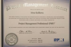 Portfolio for Prepare for the PMP exam