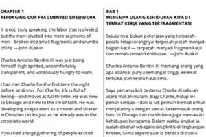 Portfolio for English - Indonesian Translator