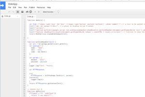 Portfolio for Google Apps Script