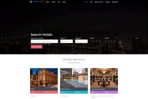 Portfolio for Travel website Development.