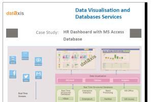 Portfolio for Databases and data visualization service