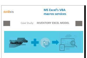 Portfolio for MS Excel VBA Macros Services