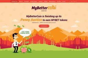 Portfolio for MyBetterCoin Penny Auction website