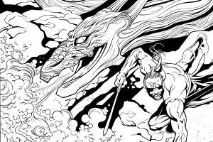 Portfolio for Illustrator/ Comic Book Artist