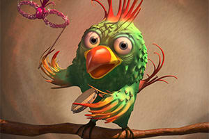 Portfolio for Visual design, 3D-2D animation