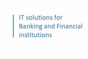 Portfolio for E-banking