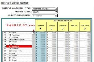 Portfolio for Business Reports & Dashboard Design