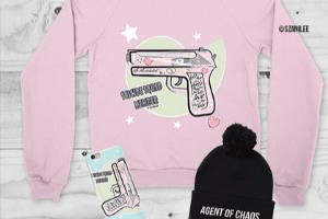 Portfolio for Apparel, Clothing , T Shirt Design
