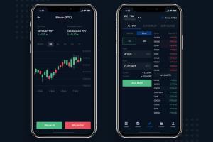 Portfolio for Exchange Platform - React, Node