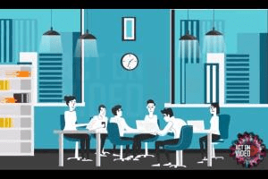 Portfolio for Business Explainer Video – 2D Character