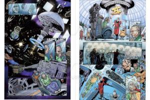 Portfolio for Comic page Colors