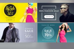 Portfolio for banner design for online or offline ads