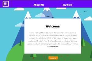 Portfolio for Front End Web Developer