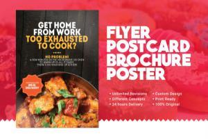 Portfolio for I Will Design Flyer Postcard Book Cover