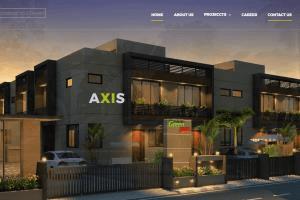 Portfolio for Axis Architecture and Interior website