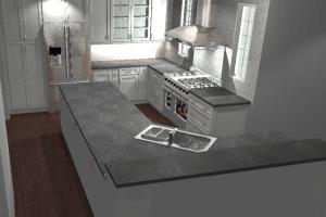 Portfolio for Kitchen and Bath Design, 2020 Renderings