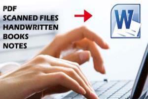 Portfolio for Word Formatting, layout design, Typing