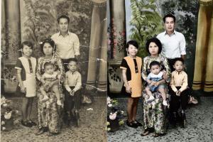 Portfolio for Photo editing/ photo colorization