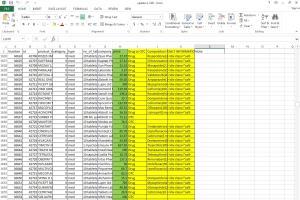 Portfolio for Data entry on excel & google spreadsheet