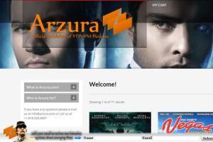Portfolio for fatal error fixing for www.arzura.com