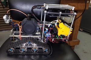 Portfolio for Raspberry Pi/arduino based projects