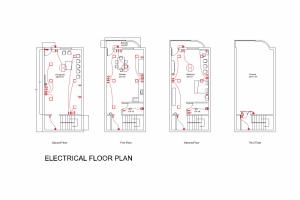 Portfolio for Interior Designer | Electrical Design
