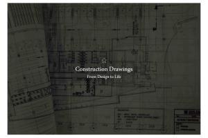 Portfolio for Construction documents