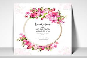 Portfolio for Ivitiation card design
