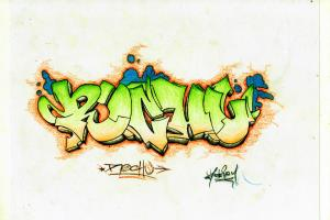 Portfolio for Draw your name in graffiti style